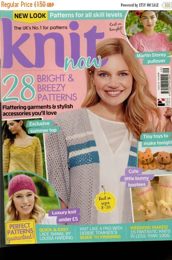 Christmas In July Knit Now Knitting Magazine Issue 49 Jule 2015