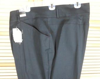 Vintage 90s Venezia black cropped pants Lane Bryant NWT new with tags plus size 28 XXL 2XL