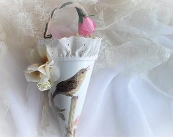 Tussie Mussie Cone Decoration