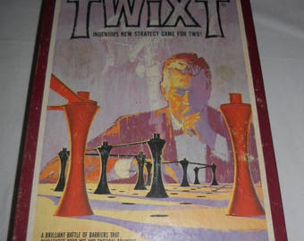 Vintage 3M Bookshelf Game Twixt Classic Strategy Game from 1976 100% Complete Avalon Hill
