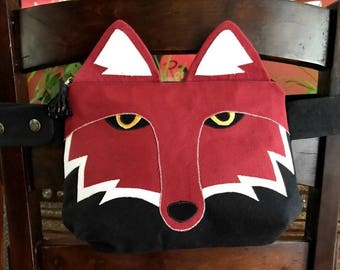 Fox Fanny Pack- Animal Fanny Pack- Bum Bag- Hip Bag