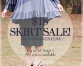 SALE LillyAnnaKids Women's knit pencil skirt modest