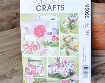 McCall Pattern #6095 Sewing Room Accessories
