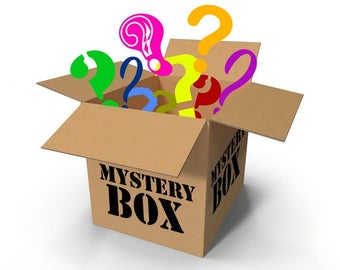 Mystery Box - Grab Bag - 5 Items - Household, Hats, Scarves, Wholesale Lot, Mystery Lot, Dishcloth, Cozies, Grab Bag