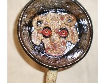 Anthraxus Diseased Sheep Demon Ceramic Soup Bowl or Coffee Mug