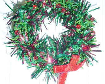 1' Christmas Wreath #2