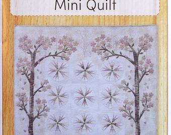 Quilt Pattern - Cherry Blossom Mini Quilt by Yoko Saito