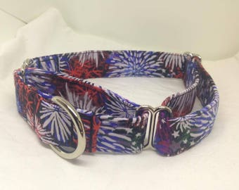 "The Liberty - 1"" Dog Collar, Soft Martingale, Medium"