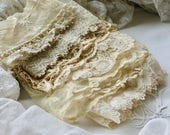 Lovely Collection Of Old French Lace