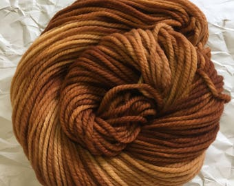 merino chunky - copper pipe