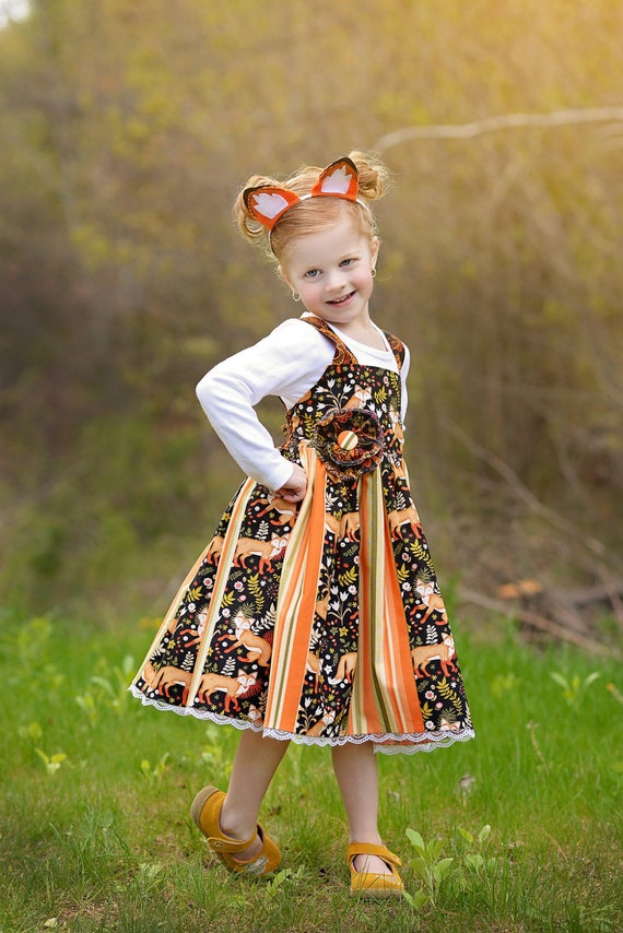 794dd3a6e 15% OFF coupon on Little Girls Fall Outfit - Woodland Fox - 1st ...
