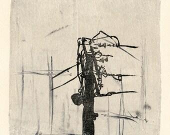 Monoprint No.15, urban scapes original art