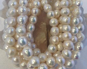 50% Mega Sale Natural White Kasumi Style Pearls (12mm)