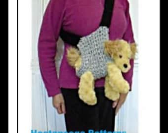 CROCHET PATTERN, Hands Free Dog Carrier Sling, crochet for dogs, dog accessories, #2063
