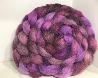 Merino/Baby Alpaca/Tussah 50/30/20 Spinning Fiber - 6.8oz - Royal Purple 1