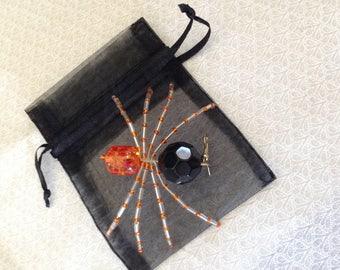 beaded spiders halloween spiders christmas tree spiders. Black Bedroom Furniture Sets. Home Design Ideas