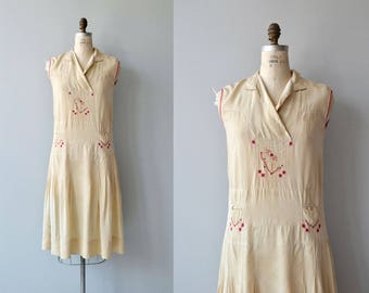 Tennyson Street silk dress | vintage 1920s dress | silk 20s dress
