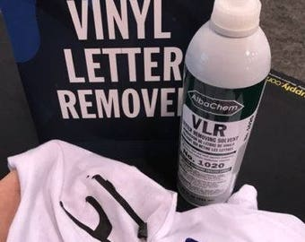 New VLR 1020 T-shirt vinyl remover - 20oz Bottle …ZipperStop Wholesale Authorized Distributor YKK®