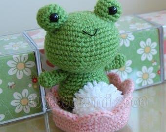 Froggy Amigurumi Pattern