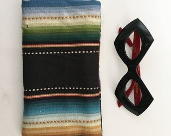 Reading Glasses Serape Case, Sunglasses Soft Case, Glasses Case,  Ready to Ship Gift Idea
