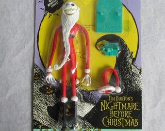 Vintage Nightmare Before Christmas Jack as Santa 1993