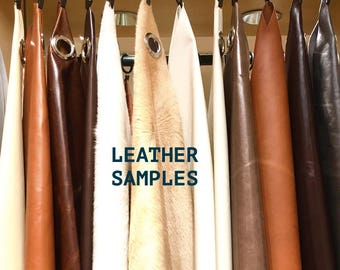 LEATHER FABRIC SAMPLES