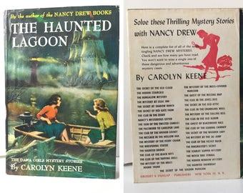 The Haunted Lagoon Dana Girls Carolyn Keene 1959 First Edition