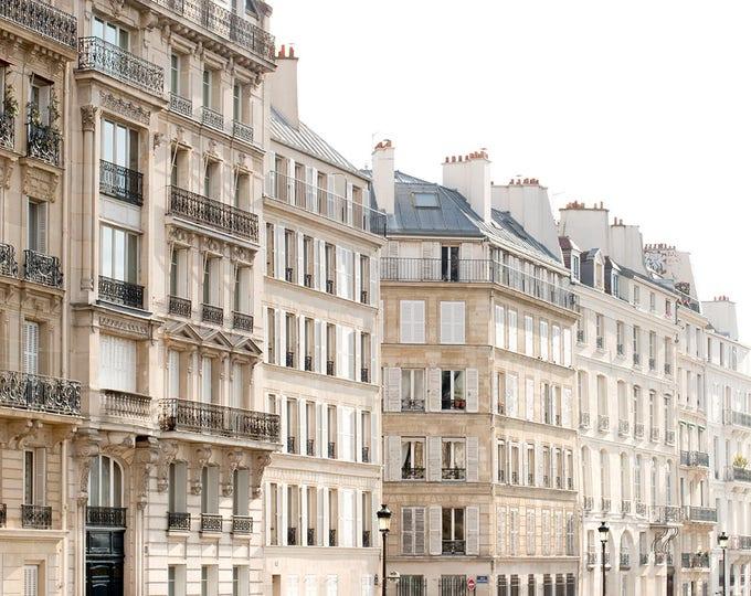 Paris Photography, Paris Apartments in Place Dauphine, Quiet corners of Paris, Paris decor, Paris Street photography, Paris Print, Landscape