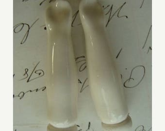 ON SALE Antique Bisque Glazed Doll Arms N0 1117