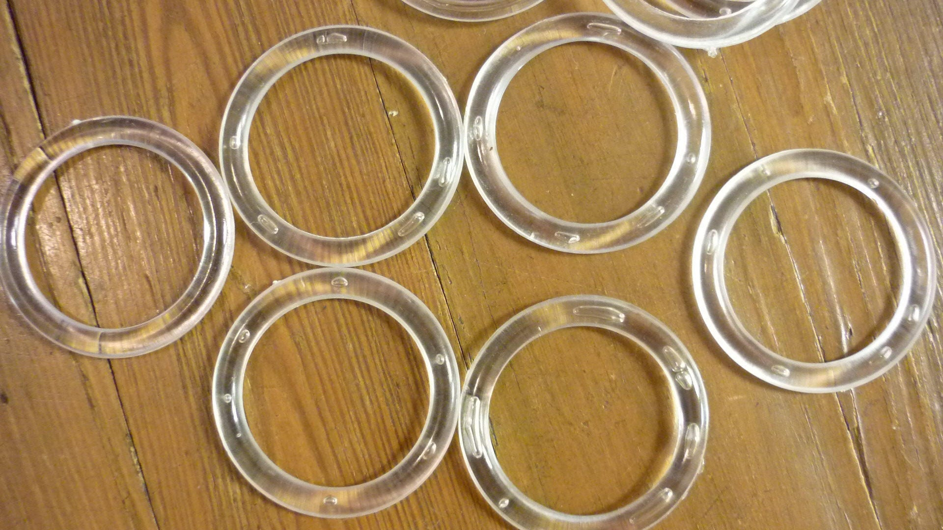 10 lg plastic rings craft rings 1 5 8 46mm clear craft for 3 inch rings for crafts