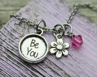 Custom Be you Charm Necklace