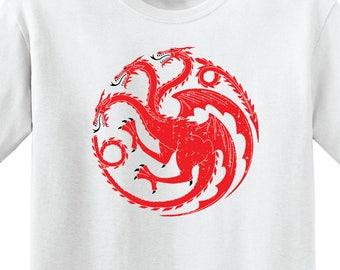 Game of Thrones - House Targaryen Sigil - Unisex T-Shirt - GoT