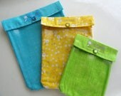 Ouch Pouch 3 Pack (Large Medium & Small) Clear First Aid Organizers Diaper Bag Backpack Purse Inserts TSA Bags Your Choice Fabrics