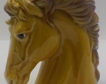Awesome Vintage Horse Head Planter - Relpo - Ceramic - Horse Head - Planter - Unique