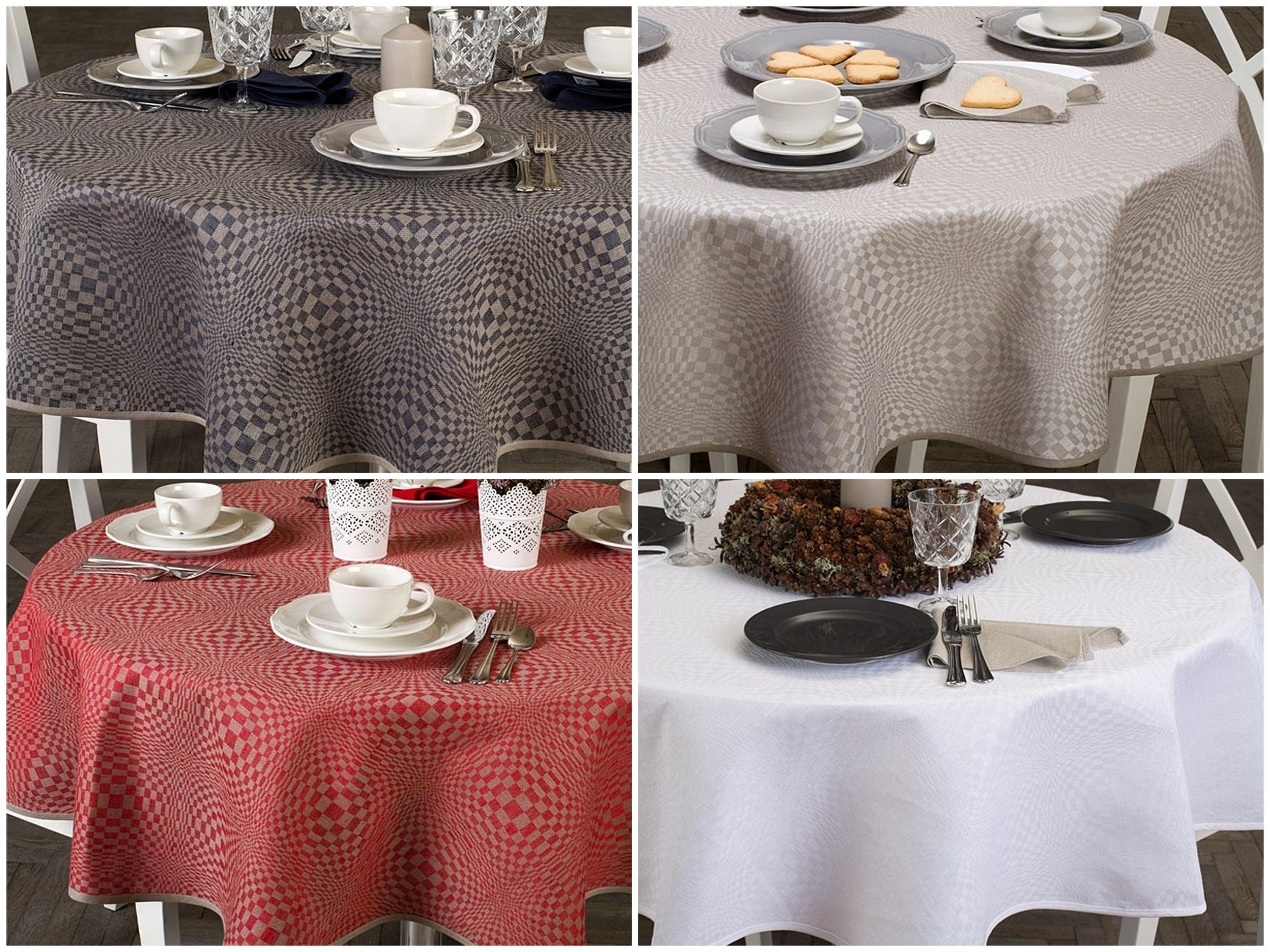oval linen tablecloth round linen table cloth white oval. Black Bedroom Furniture Sets. Home Design Ideas