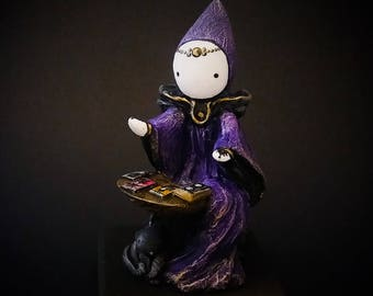 The Tarot Reader - A Limited Edition Poppet Tarot Sculpture   #13/100