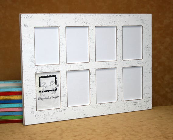 Rustic Collage Frame Set Collage Picture Frame White