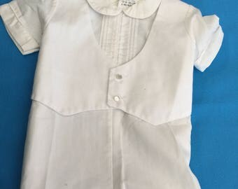 Vintage Boys one piece outfit