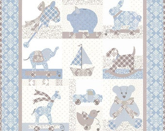Nighty Night Will quilt Pattern  from Bunny Hill Designs