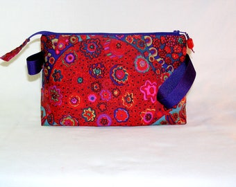 Millefiore in Crimson Tall Mia Bag