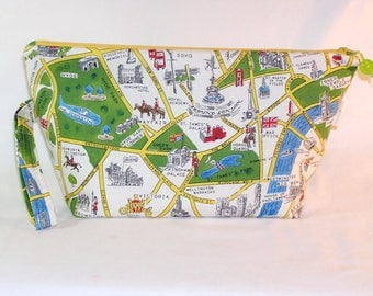 London Map Beckett Bag