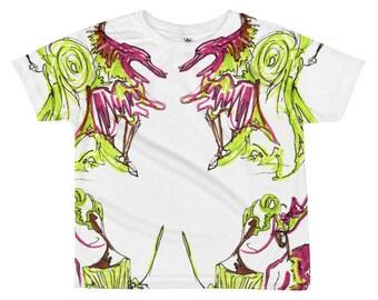 Dancing Ladies Kid's T-shirt