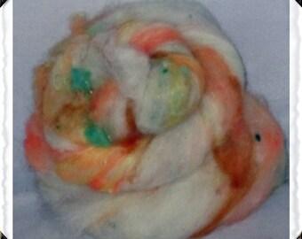 Hampshire cross Wool Blend Batt  (#1)