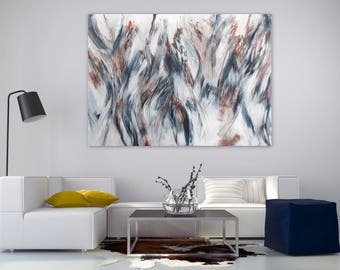 Exceptionnel Extra Large Abstract Painting, Extra Large Wall Art, Original Painting On  Canvas, Abstract