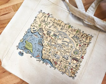 Los Angeles City Tote