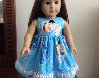 "Disney Cinderella dress set for 18"" American Girl doll"