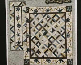 50% OFF SALE - Green Tea & Iced Mocha Quilt Kit