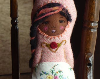 Gnome matryoshka nesting doll