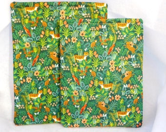 Book Sleeve - Hardcover Paperback - Jungle Menagerie - Rifle Paper Company