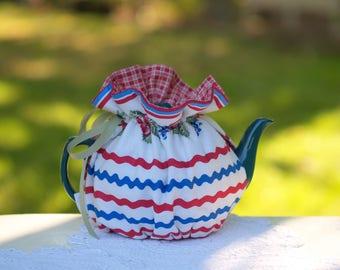Cherries Wrap Tea Cozy, ready made